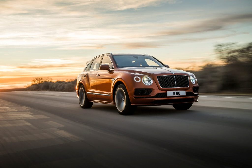 Bentley's Bentayga Speed Is The World's Fastest SUV!