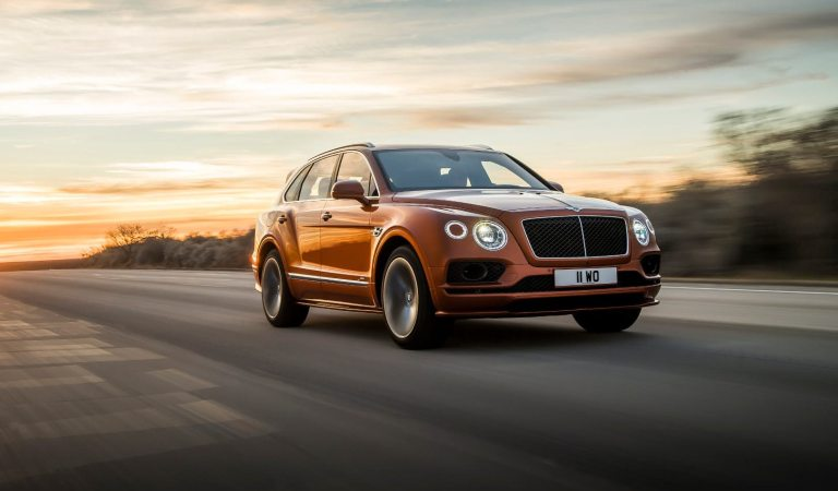 Bentley's Bentayga Speed Is Now The World's Fastest SUV