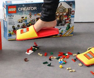 Anti-LEGO Slippers Will End The Pain From Stepping Onto LEGO!