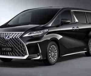 Lexus Has Launched Its First Minivan, The Lexus LM Minivan!