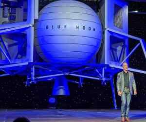 Jeff Bezos Has Unveiled Blue Moon, The New Lunar Lander!