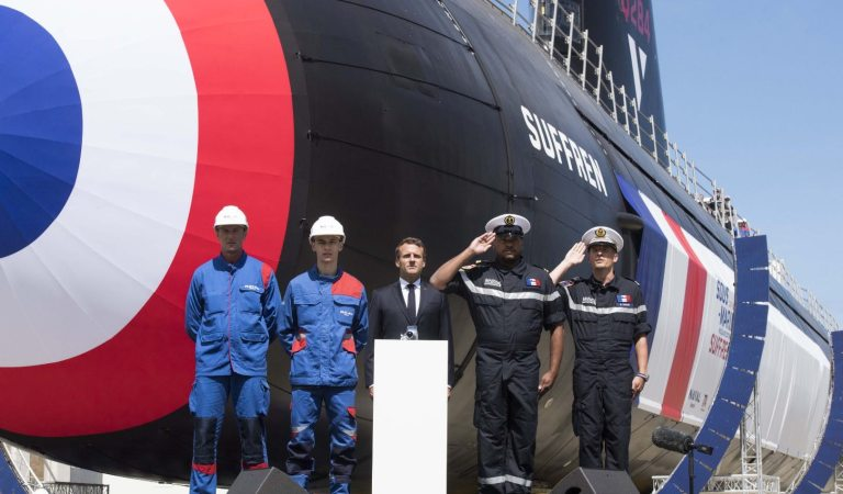 France Unveils The Next Generation Barracuda Class Nuclear Submarine