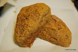 Sprouted wheat Cinnamon Scones (E)
