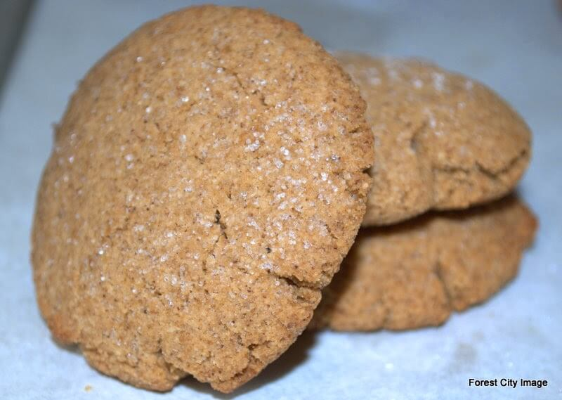 Soft Molasses Cookies (THM S) these are great for christmas and as a lighter snack.