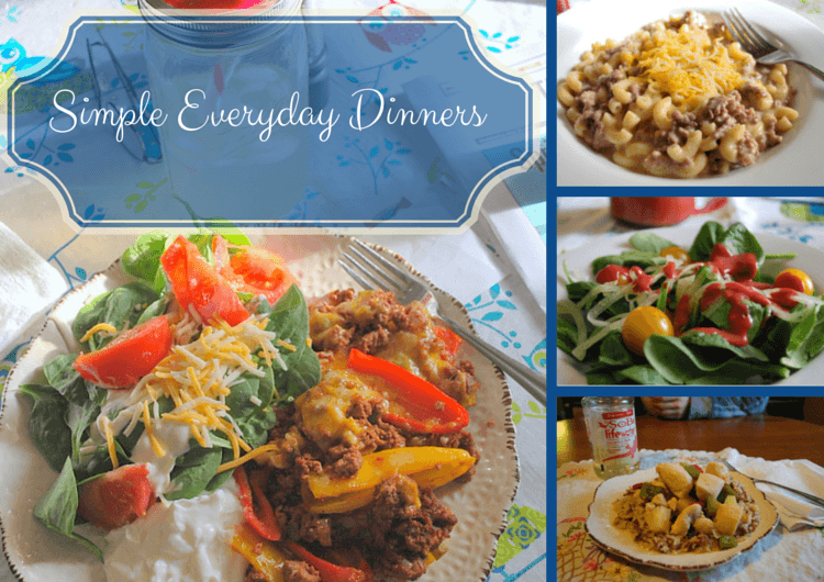 Simple Everyday Dinners That Follow A Trim Healthy Mama Lifestyle
