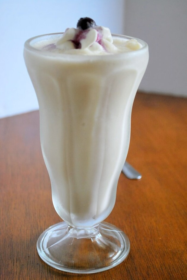 Creamy Vanilla Custard Shake