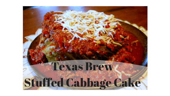 Texas Brew Stuffed Cabbage Cake