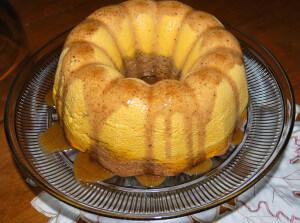 Pumpkin Pie Cake (THM S, Sugar Free)