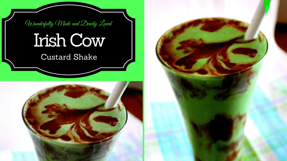 Irish Cow Custard Shake (THM S, Low Carb)