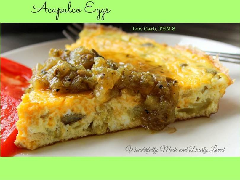 Acapulco Eggs (THM S, Low Carb)