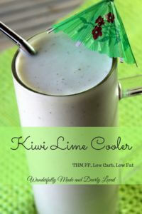 Kiwi Lime Cooler pin