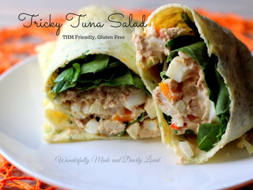 Tricky Tuna Salad (THM S, E or FP)