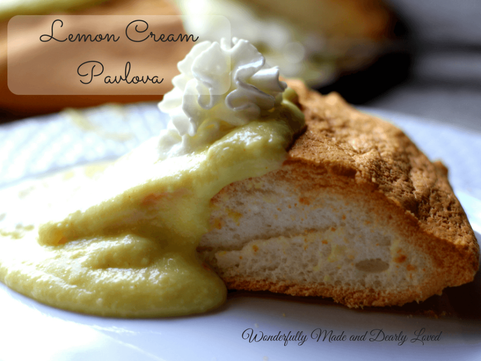 This Lemon Cream Pavlova is low fat and low carb so it fits well within THM Fuel Pull guidelines.