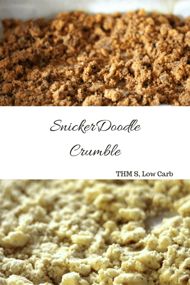 SnickerDoodle Crumble is a wonderful cereal option for both low carb and trim healthy mamas.
