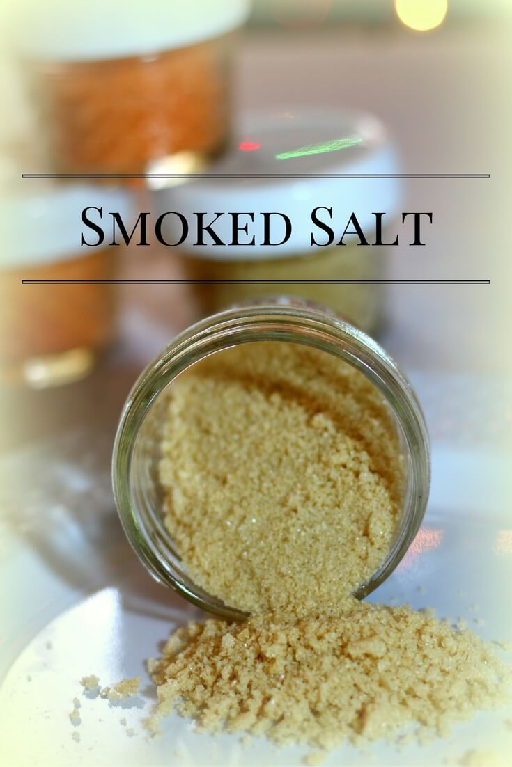 Smoked Salt to give as a Trim and Healthy Gift