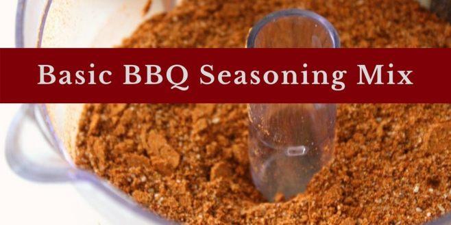 Basic BBQ Seasoning Mix (Sugar Free, THM NSI)