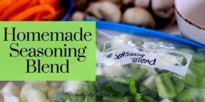 Homemade Seasoning Blend