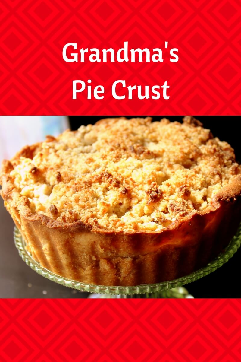 I've converted my Grandma's Pie Crust Recipe to fir within Trim Healthy Mama and Low Carb Lifestyles. Come share our family tradition.