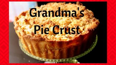 Grandma's Pie Crust (Low Carb, THM S)