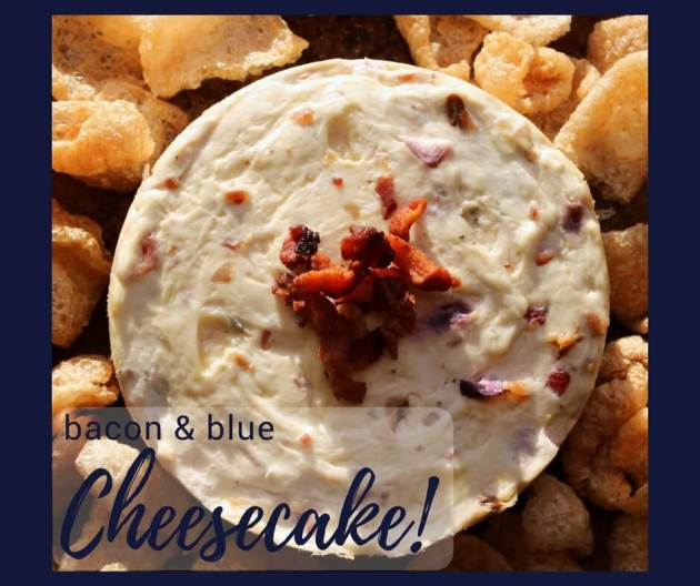 Bacon & Blue Cheesecake (THM S, Low Carb)