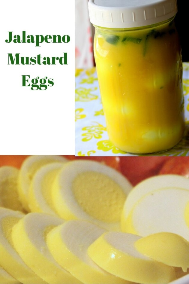 Jalapeno Mustard Eggs (THM FP, Low Carb, Keto)