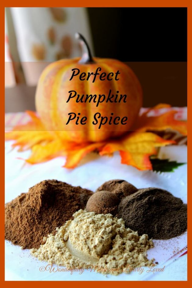 The Perfect Pumpkin Pie Spice for all your holiday baking