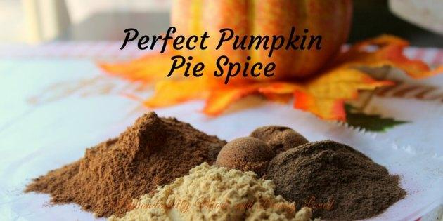 Perfect Pumpkin Pie Spice