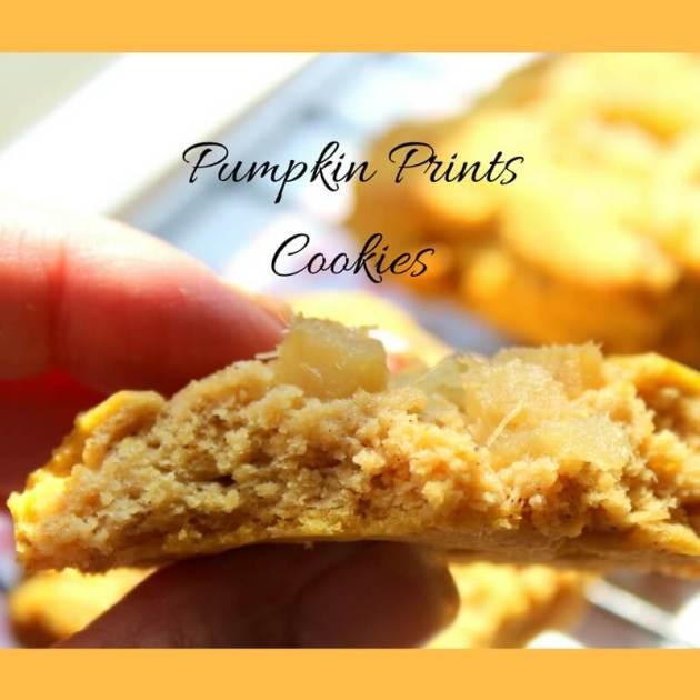 Pumpkin Prints Cookies