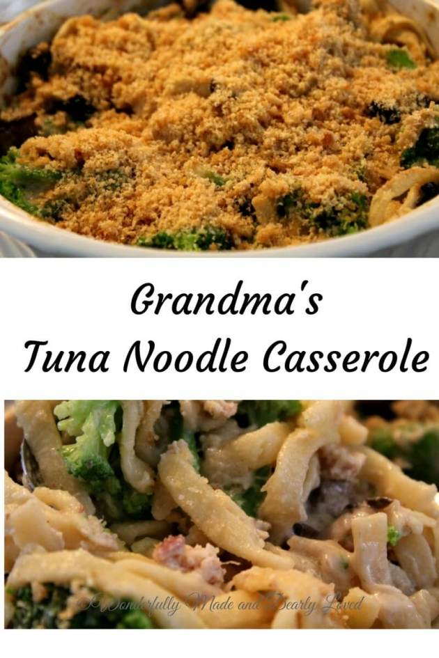 My Grandma's Tuna Noodle Casserole made low carb and thm friendly. #THM #Low Carb