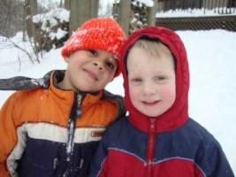 Toby and Elijah