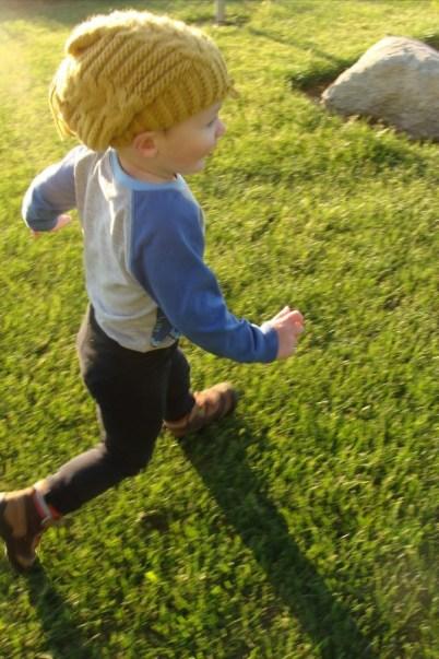 liam running