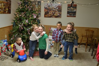 Garrett, Norah, Sophie, Toby, Elijah and Silas