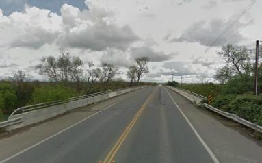 Simpson-Lane Bridge east of Yuba City, CA. This is where Carroll and Ronnie allegedly buried the murder weapon.
