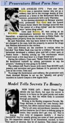 Sarasota Herald-Tribune. June 4, 1982.