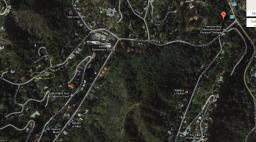 """The tavern was located at the Red """"A"""" marker. Yellow circle is Wonderland house. The Canyon Store is just south on Laurel Canyon Blvd."""