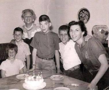 Joey Ramone's birthday party.