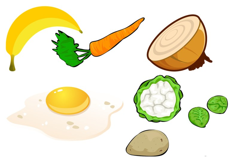 illustration of assorted vegetables