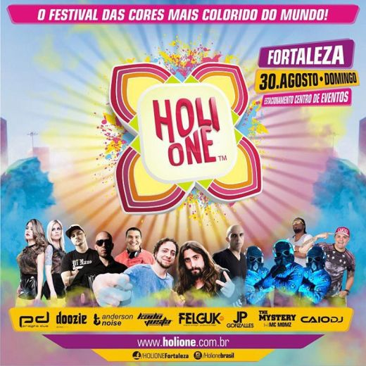 Line Up - Holi One Fortaleza 2015