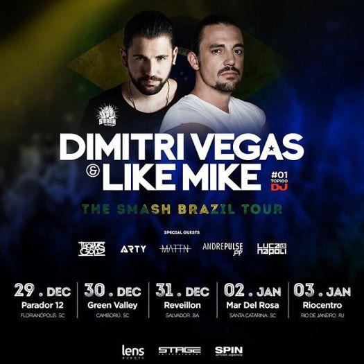 The Smash Brazil Tour 2015/2016
