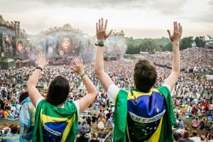 Acompanhe a montagem das estruturas da Tomorrowland Brasil