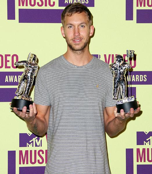 Calvin Harris ganha duas categorias no VMA 2012
