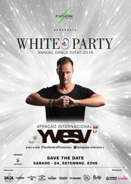 Yves V se apresentará na White Party Brasil 2016