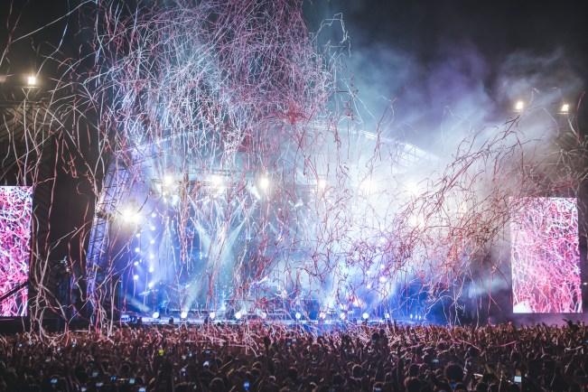 The Chainsmkers destruiram no palco Axe do Lollapalooza Brasil 2017