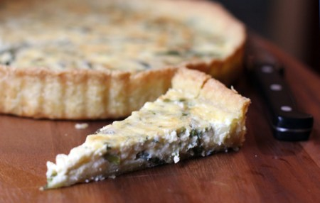 Tart of Asparagus and Tarragon