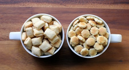 DIY Oyster Crackers: The comparison