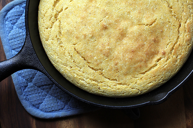 DIY Cornmeal Cornbread