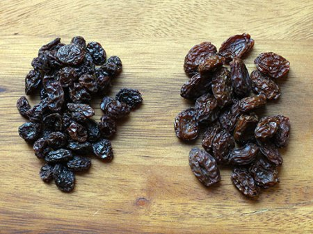 DIY Raisins vs Commercial