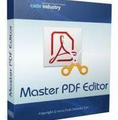 Master PDF Editor Registration Code