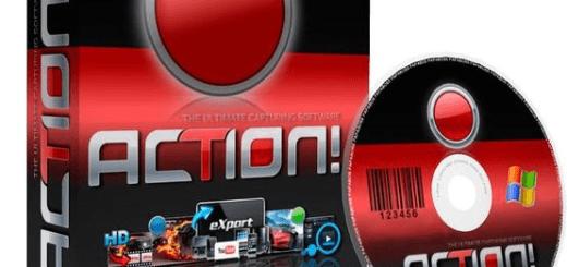 Mirillis Action Serial key