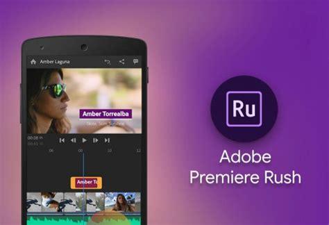 Adobe Premiere Rush macOS